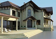 Индивидуальный жилой дом площадью 1000 м2