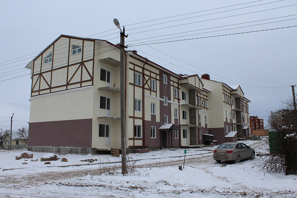 """Типовой проект 3-х этажного многоквартирного дома """"Антарес-2"""" фотография строительства"""