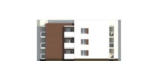 """Проект многоквартирного малоэтажного жилого дома """"Эрида""""-Фасад 2"""