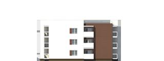 """Проект многоквартирного малоэтажного жилого дома """"Эрида""""-Фасад 4"""