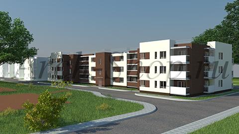"""Проект многоквартирного малоэтажного жилого дома """"Эрида""""-Визуализация"""
