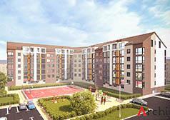 Проект 5-ти этажного многоквартирного дома
