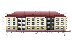 Проект 24-квартирного жилого дома