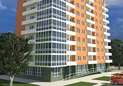 Проект 10-ти этажного многоквартирного дома