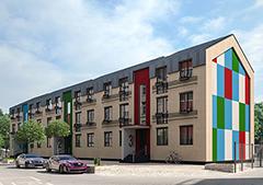 Проект АП-04-Трехэтажный многоквартирный дом