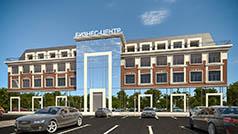 Проект административного здания площадью 3 500 кв.м