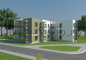 Проект  многоквартирного дома «Акрукс»