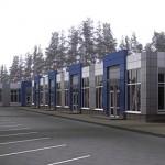 Проект торгового павильона общей площадью 554 м.кв.