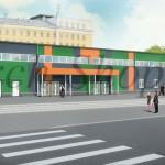 Проект магазина строительных товаров