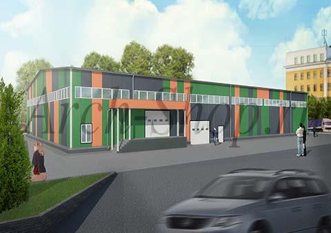 Проект магазина строительных товаров - визуализация 2