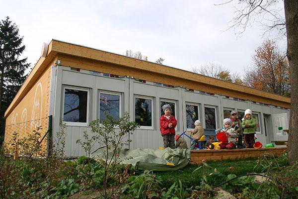 Пример реализованных объектов компанией CONTANEX. Детский сад