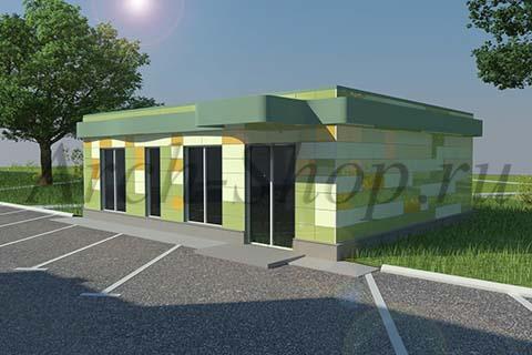 Проект магазина площадью 100 кв. м.-Визуализация 2