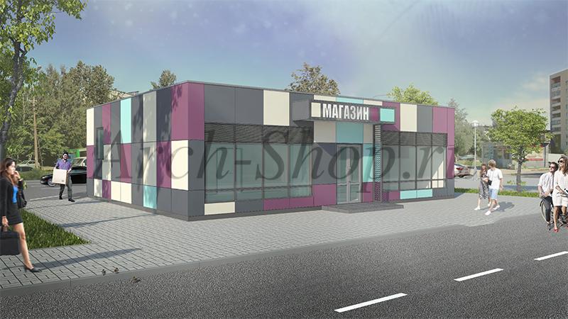 Проект магазина продуктов-Визуализация 1