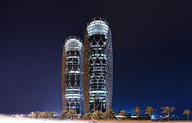 Изумительная архитектура – башни Аль-Бахар