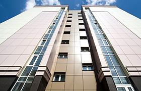 Фасадные панели Краспан из алюминия