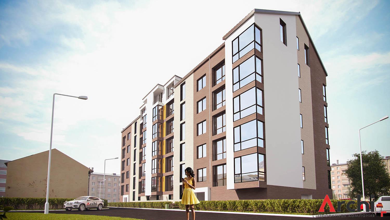 Výstavba 5-podlažných domov