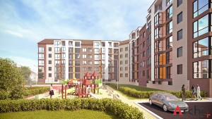 Проект 5-ти этажного многоквартирного дома с мансардой