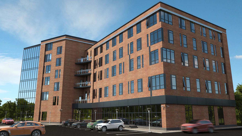 Проект офисного здания общей площадью 5,5 тыс. кв.м.