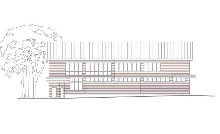 Проект  здания автосервиса с автомойкой и кафе