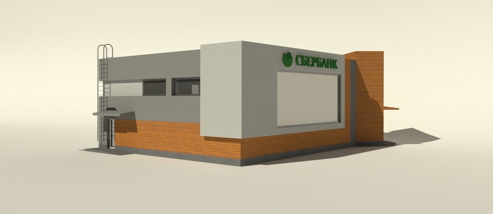 Проект общественного центра. Визуализация