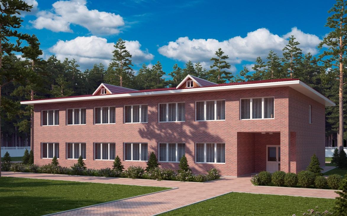 Проект спального корпуса санатория