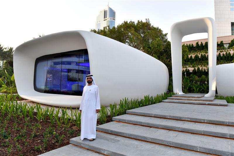 Офисное здание будущего в ОАЭ