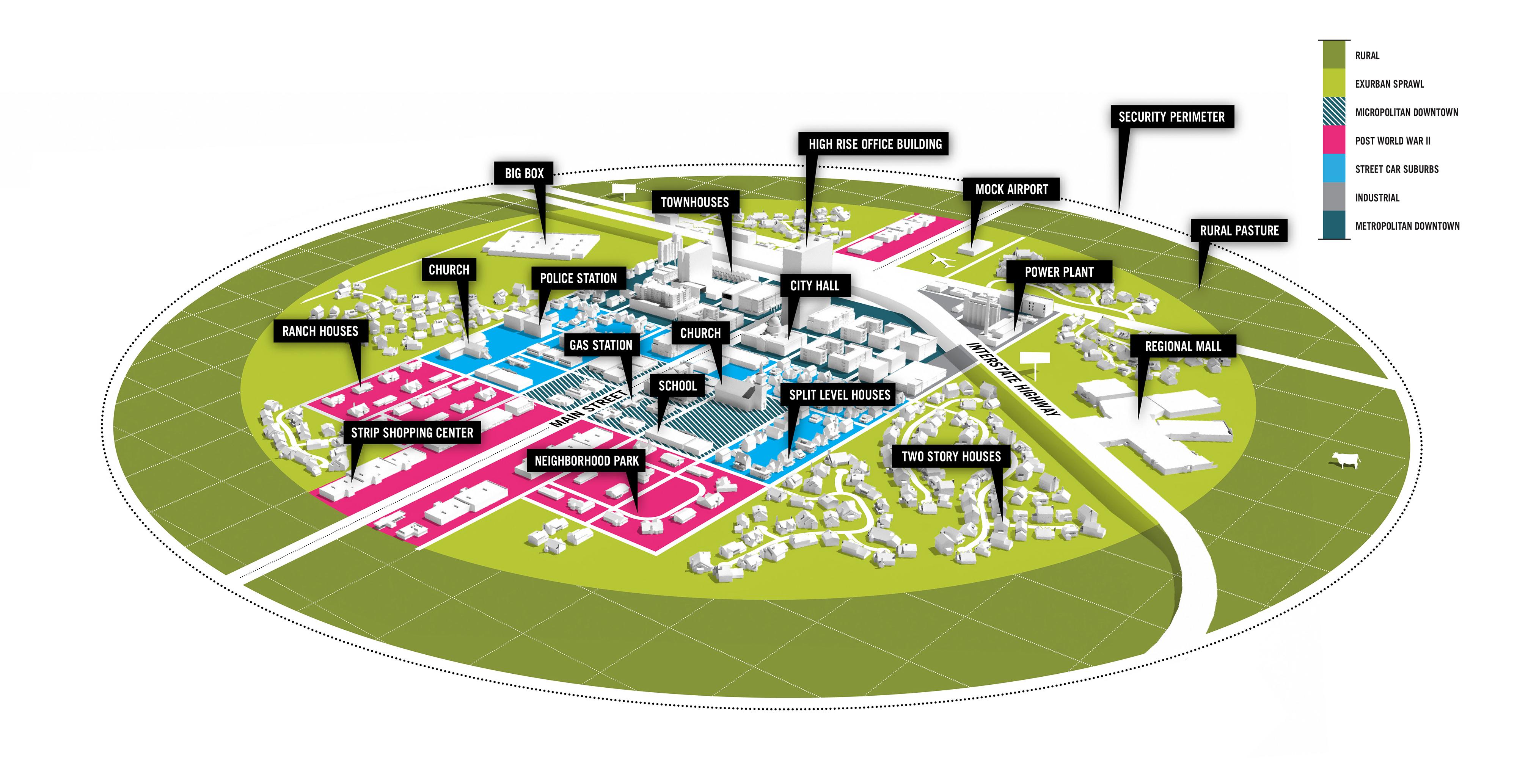 В США построят Город-Лабораторию без людей