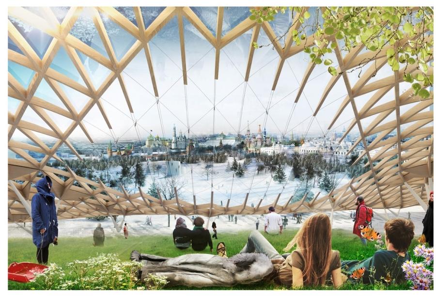 Зарядье. Новый парк в центре Москвы
