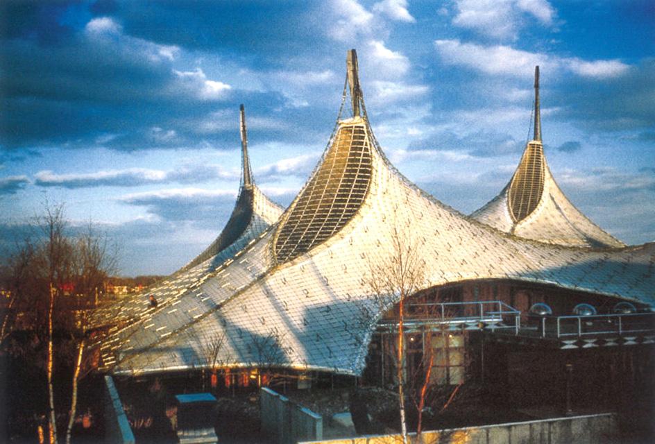 Павильон международной выставки 60-х годов