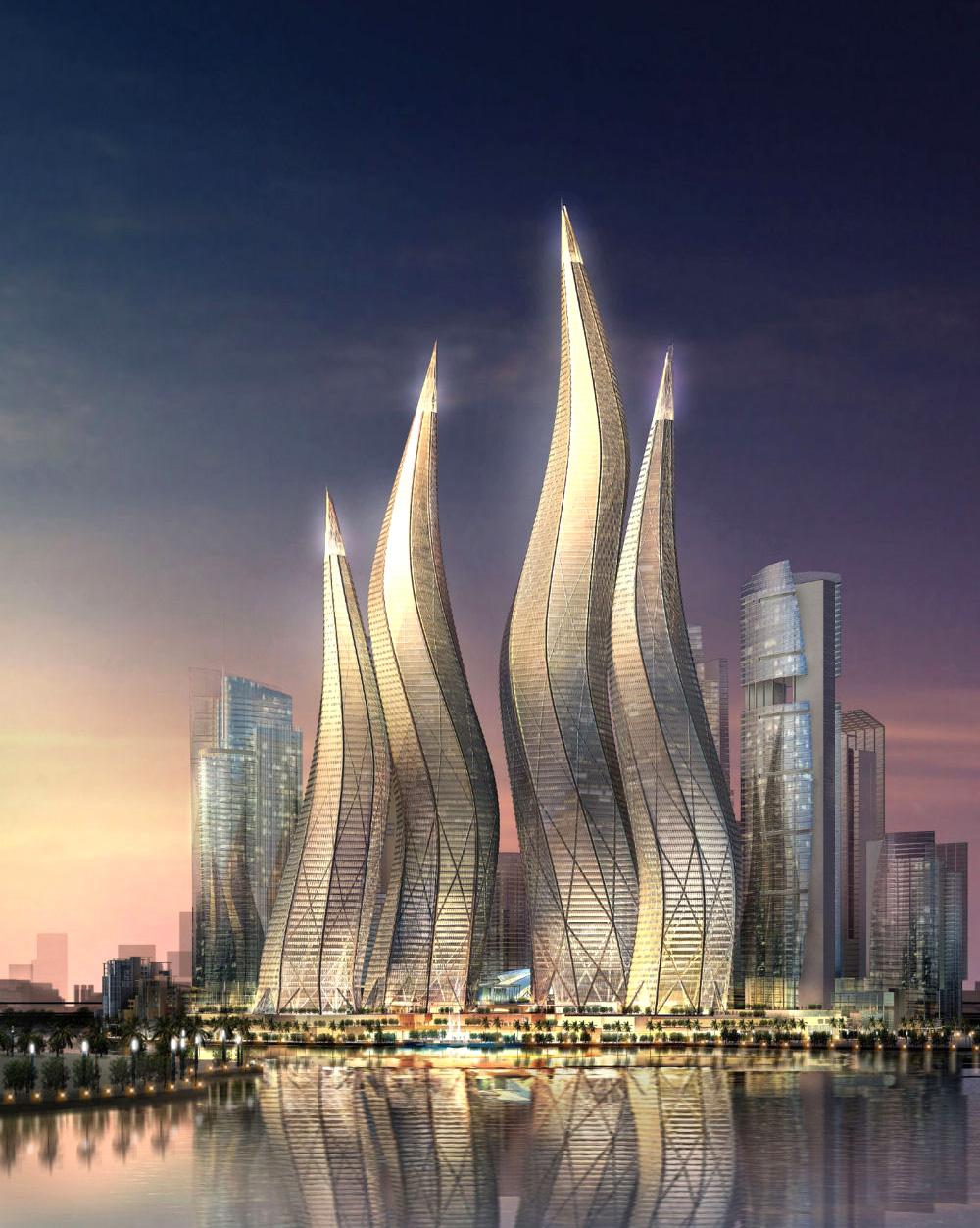Архитектурный ансамбль «Лагуны». Дубаи