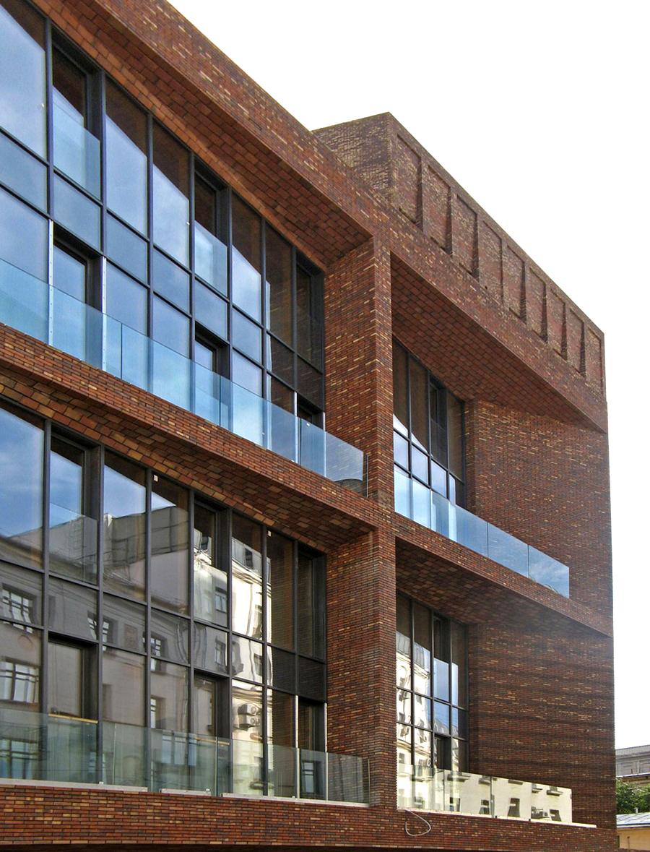 Кирпичные фасады от Hagemeister