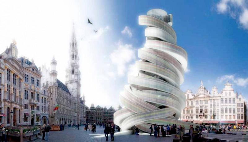 «Спираль Европы». Брюссель