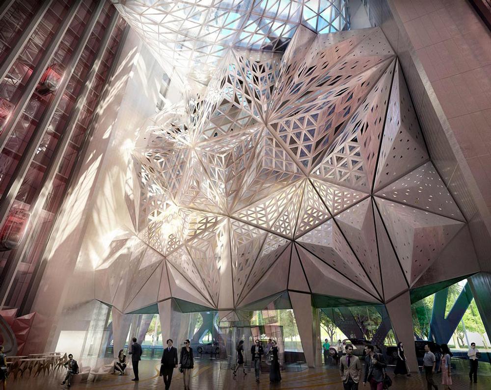 Проект Cityofdreams Заха Хадид.  Макао (Китай)
