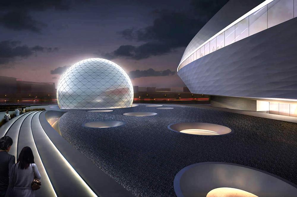 Проект грандиозного планетария в Шанхае