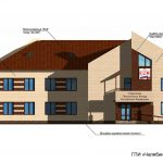 Проект административного 2-х этажного здания