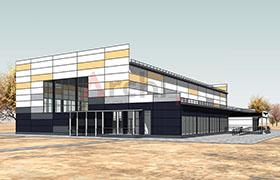 Проект физкультурно-оздоровительного комплекса для игровых видов спорта в г. Череповец