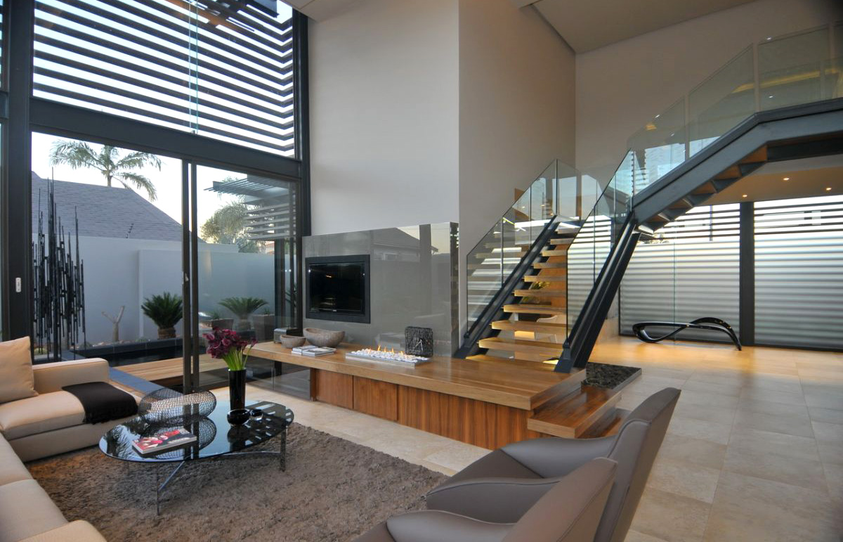 Реконструкция частного дома от Нико Ван Дер Мелена