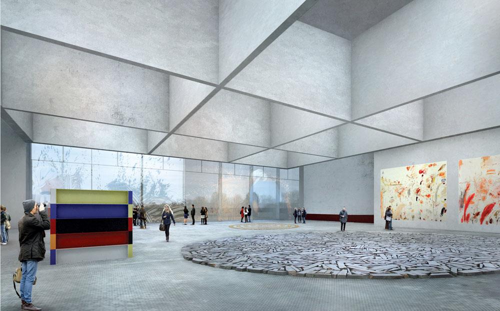 Проект Государственного центра современного искусства в Москве77777
