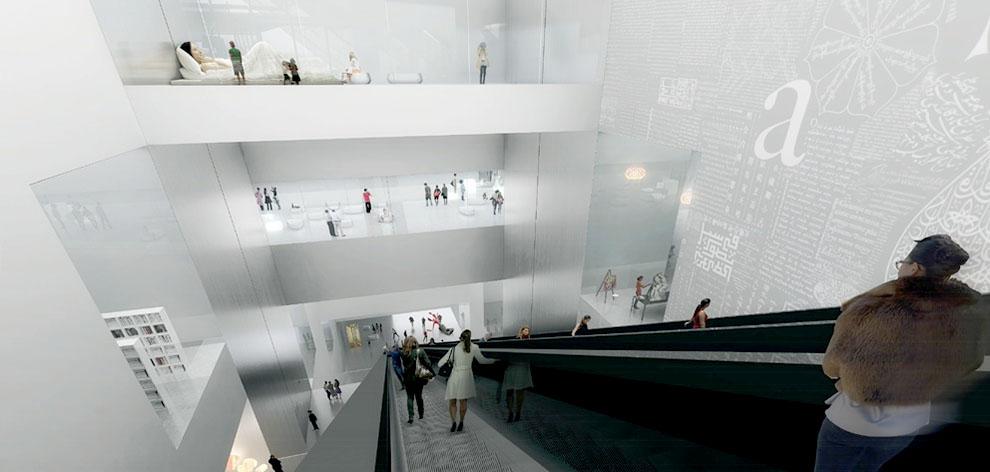 Проект Государственного центра современного искусства в Москве