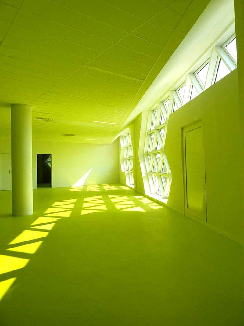 Проект учебного центра Georges-Freche во Франции