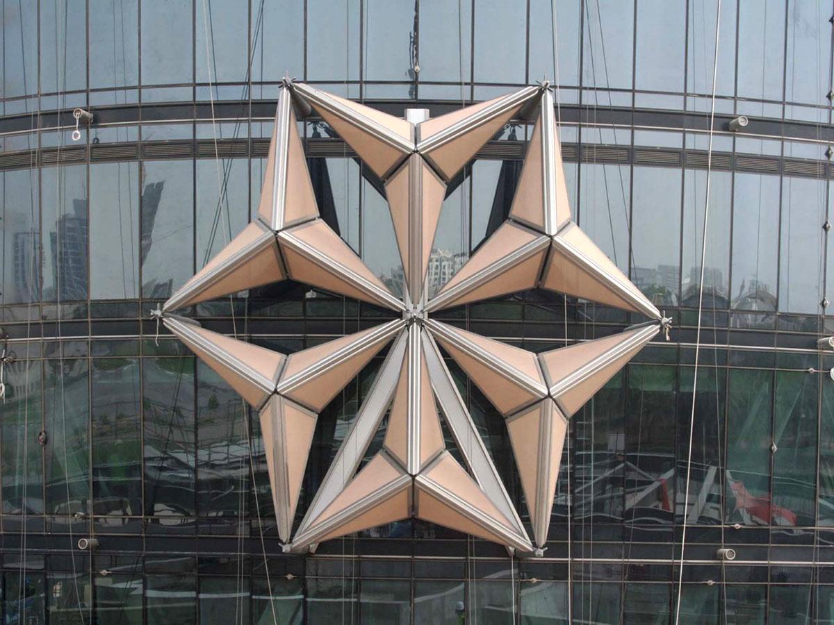 Изумительная архитектура - башни Аль-Бахар