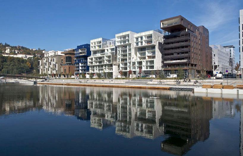 Жилой район Лион-Конфлуанс от Massimiliano Fuksas Architetto
