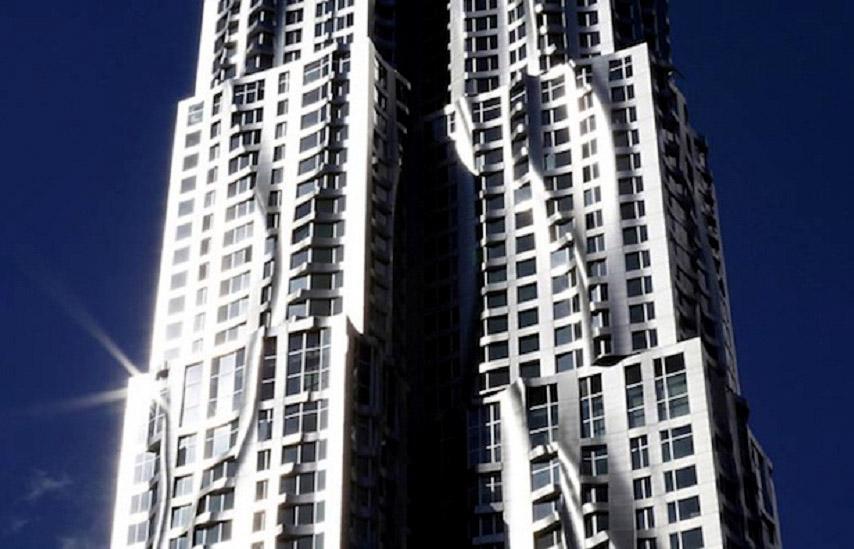 Жилой небоскреб Фрэнка Гери