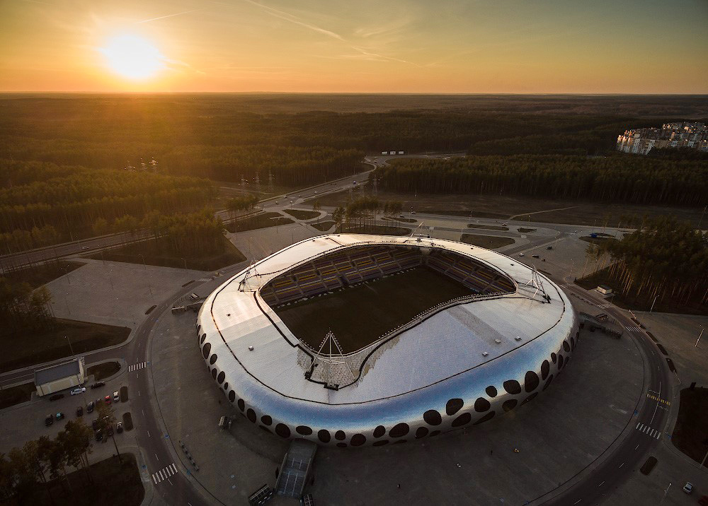 Футбольный стадион «Борисов-Арена» в Республике Беларусь