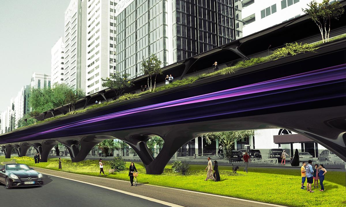 Транспорт будущего от Бюро MAD architects
